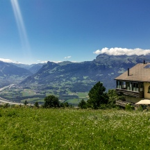Roadview from Vaduz to Malbun